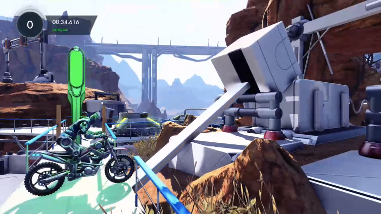 Zpud playing Trials Fusion