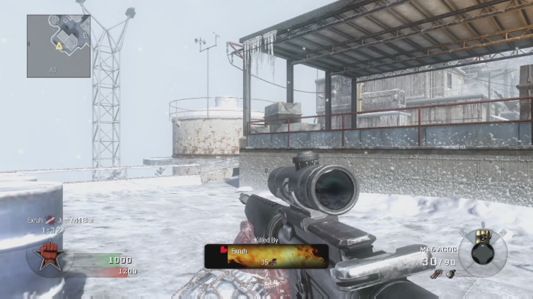 Just Add Blur playing Call of Duty: Black Ops