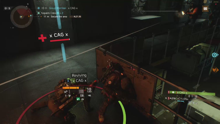 Duplexitron playing Tom Clancy's The Division